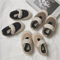First Walkers Baby Girls Shoes Autmn Winter For Girl Soft Plush Non-slip Toddler Infant Boy