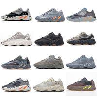 3M Static Reflexivo 700 V2 Sapatos de Running Inércia Tephra Texa Sólida Cinza Kanye Utility Black Vanta Homens Mulheres Esporte Sneakers EUR 36-46