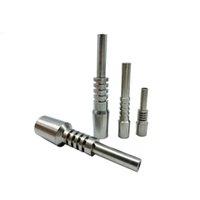 2021 Reemplazo más barato Nail Titanium Tip Premium 10mm 14mm 18 mm GRADO INVERTIDO 2 G2 TI TIPS UBRES PARA EL KIT DE SILICONO NC E IN