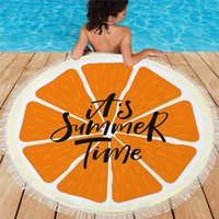 150cm Round Beach Towel Summer Home Tassel Tapestry Sunbath Swimming Pool Large Towels for Adults 30 Styles