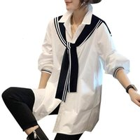 Women's Blouses & Shirts Two fake white shirts, top loose women, foreign tide, spring . HV6J