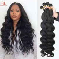 Queenlife 30 32 34 36 38 40 inch Body Wave Brazilian Weave 100% Human Bundles 1 3 4 Pieces Remy Hair