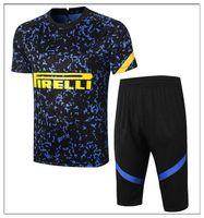 21 kits de chándales de fútbol camisetas 3/4 pantalones 13 Maillots de fútbol fútbol de manga corta Fútbol Payet Benedetto Ronaldo di Maria Cavani