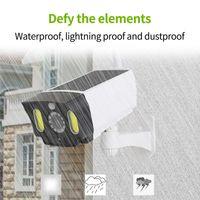 novelty lighting Camera Shape Solar Wall Light Waterproof Outdoor Security Surveillance Dummy PIR Motion Sensor Lamp