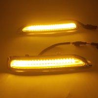 1 Pair For Lexus RX RX300 1998 1999 2000 2001 2002 2003 Car LED Daytime Running Light DRL Fog Lamp Turn signal light