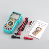 Multimeters 2900A Digital Automotive Car Engine Multimeter 6000 Counts True RMS AC DC Volt Amp Ohm Dwell Angle Rotational Speed Tester