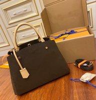 Hot sell designer di lusso satchel messenger borse in pelle maniglie a strim con cinturino a tracolla borsa a tracolla borsa francese N41056