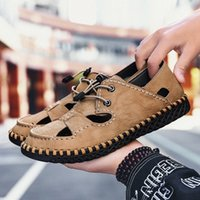 Olomm Yaz Erkekler Sandalet Işık Nefes Sahil Ayakkabı Orijinal Zapatos De Hombre Yetişkin Yüksek Kaliteli Erkekler Rahat Ayakkabılar Düz Ayakkabı Kama 10kr #