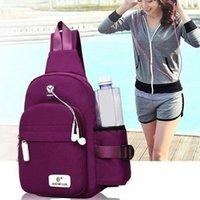Waist Bags Men Women Nylon Sling Bag Backpack Portable USB Charging Crossbody Shoulder Cycle Daily Travel Chest Pack