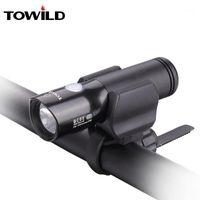 أضواء الدراجات Towild BC05 كري XM-L2 U3 LED 1100 شمعة ضوء الأمامي في الهواء الطلق IPX-6 دراجة ماء المصباح 1