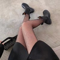 Mode Weibliche Designer Beine zeigen dünne sexy Geschmack weibliche Seide Strümpfe Strumpfhose Fischnetz Strümpfe Hohl Warmwasser Bohrer 01