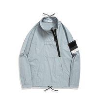 topstoney 2020 konng gonng primavera y otoño nuevo trinchera abrigo chaqueta de alta calidad estilo europeo con cremallera diagonal