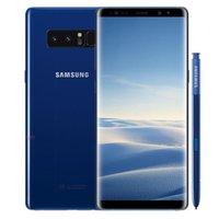 الأصلي تم تجديده Samsung Galaxy Note 8 N950F N950U 6.3 بوصة Octa الأساسية 6 جيجابايت رام 64 جيجابايت rom 12MP مقفلة 4 جرام lte الهاتف الخليوي الذكية DHL 10PCS