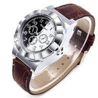 Relógios de relógio de cigarro eletrônico assistir USB carregando multi-função silicone de quartzo de quartzo homens