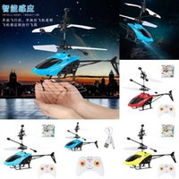 Anti-collision Induction Flying Electric Remote Control RC Aircraft Helicopter remote control plane Toys UFO with LED Magic Sensing UFO