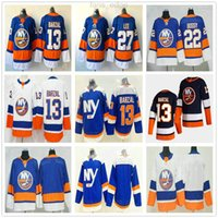 2020 2021 Reverse Retro New York Islander # 13 Mathew Barzal 22 Mike Bossy Bossy 27 Anders Lee Alternate Blue Uomini Donne Donne Bambini Giovani Hockey Jerseys