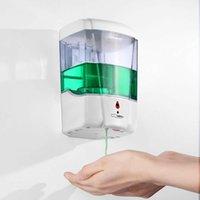 Toptan Duvara Monte Otomatik Sensör Sıvı Sabunluk Dokunmamış 700 ml Banyo Aksesuarları