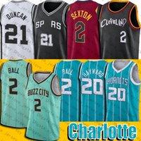샬럿 Lamelo Gordon Ball Hayward Jersey Collin Clevelands Sexton Jerseys San Basketball Antonios Jersey
