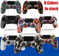 8 Colors Bluetooth Wireless Controller For PS4 Vibration Joystick Gamepad Game Handle Camo Controllers For Play Station Four Generation