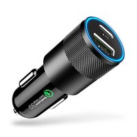 CCC-U2QC PD USB C Car Charger Quick Charge 4.0 3.0 Fast Charging For All Smartphones Type C Phone Chargers