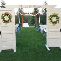 Decorative Flowers & Wreaths Artificial Daisy Spring Flower Wreath Large Decoration For Wedding Front Door Drop