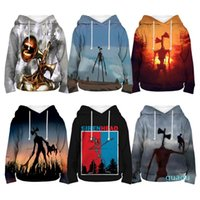Hoodies & Sweatshirts Siren Head Toddler Kids 3D Print Pullovers Children Cartoon Boys Girls Teens Coat Tops Sportwear