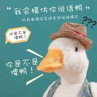 Scultura di sabbia Rilegare il collo di sollevamento del giocattolo per parlare a Duck Walk Call, imparare la lingua può cantare net rossi rosso stesso stile