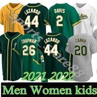 2021 Top 28 Matt Olson Jersey 26 Chapman 9 Reggie Jackson 24 Rickey Henderson 50 Mike Fiers 2 Khris Davis Atlética Baseball Jerseys