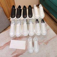 أعلى مصمم الرجال النساء إمرأة أبيض رجل المدربين عارضة أحذية espadrilles الشقق منصة الأحذية الرياضية espadrille شقة أحذية مع صندوق حجم كبير 36-45