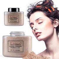 Fana 42G Controle de óleo solto em pó mineral de longa duração configuração de maquiagem face highlighter concealer beleza.