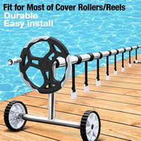Pool & Accessories Cover Reel Attachment Kit Roller Set Solar Strap Universal Strapping 8sets