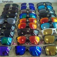 Top Quality Men Women Polarized Sunglasses Brand Designer Black Frame Sun Glasses Outdoor Riding Sports Eyewear Fishing Eyeglasses