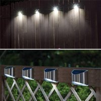 Solar Lamps LED Light Outdoor Garden Waterproof Wall Lamp Security Lighting For House Front Patio Step
