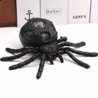 Halloween Mischief descompression brinquedos TPR Spider Spereze Brinquedo Cor Bead Bead Bewer Big-Spider Grandes aliviar a ansiedade