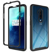 360 Full Body Slim Armor Shockproof Cell Phone Cases For Oneplus 7 7T 7Pro One Plus 8 8T 8Pro 9 9Pro Nord N10 N100 1+7 1+8 TPU+PC Transparent Hard Cover