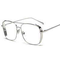 واضح 2020 الذهبي للرجال إمرأة إطار مصمم نظارات شمسية للرجال النساء النساء الأشعة فوق البنفسجية 400 حماية نظارات الشمس