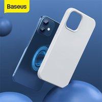 Baseus 12 Pro Жидкий Силикагель Гель Магнитный Чехол Телефон Простая защитная задняя крышка