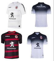 2020/2021 New Toulouse Home Rugby Jersey 2019 Stadtoulouse Home Rugby Away Training Jersey Size S-5XL