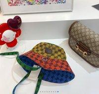 Mens Women Designers Bucket Hats Fashion Multicolor Full Letter Baseball Cap Casquette Bonnet Beanie Luxurys Fedora Fitted Caps Sun Hat
