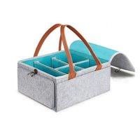 الطفل العملي قدرة كبيرة شعرت السفر والمنزل انفصال حفاضات التخزين حقيبة التخزين دائم الحقائب سهلة حمل قابلة للطي 486 Y2