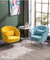 Moderne Stoff Single Sofa Nordic Luxus Wohnzimmer Möbel Schönheitssalon Bekleidung Store Rest Wartestuhl Kleine Wohnung Lazy Recliner
