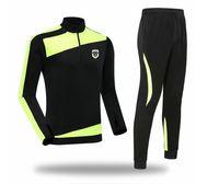 Angers SCO 2021 2022 erkek Ceket Pantolon Futbol Eşofman Futbol Eğitimi Suits Çocuklar Spor Jogging Giymek Yetişkin Tracksuts