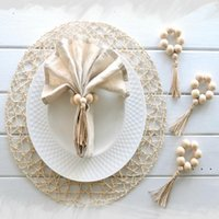 Кольца салфетки деревянные салфетки для салфетки для салфеток дома