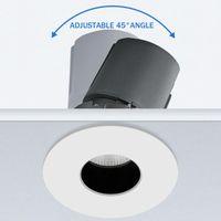 Downlight 안티 눈부심 LED 천장 램프에 움푹 들어간 알루미늄 스팟 LED 빛 호텔 거실 침실 복도에 대 한 7W 10W Dimmable