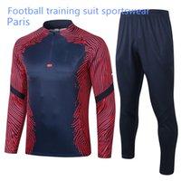 21 22 Paris Football Jacket de Jong Sportswear 2021 De Ligt Chandal Virgil Paris Jersey Training Uniform Sportswear