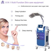 High quality Oxygen jet Peeling deep cleaning Hydrafacial machine skin rejuvenation H2O ,O2 dermabrasion Spa Salon equipment CE approved