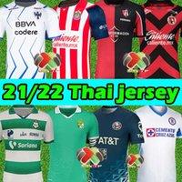 21/22 MX Liga Soccer Jerseys Club America Tigres Uanl Chivas Cruz Azul Guadalajara Leon Rayados-Montery Unam Xolos Tijuana 2021 2022 قمصان كرة القدم