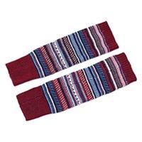 Socks & Hosiery 1 Pair Contrast Color Crochet Winter Autumn Boot Coldproof Foot Women Leg Warmer Ladies Lengthen Adult Knee High Fine Knitte