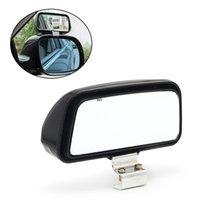 1 PC 자동차 트럭 unversal 조정 가능한 광각 거울 후면보기 블라인드 스팟 11x7cm W91F