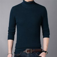 Men's Sweaters Autumn And Winter Pullovers Thick Warm Cashmere Wool High Neck